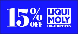 15% Off LIQUI MOLY - Oil Additives