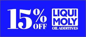 15% Off LIQUI MOLY - Oil Additives