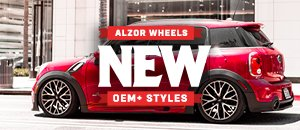 New Alzor Wheels For Your MINI Cooper