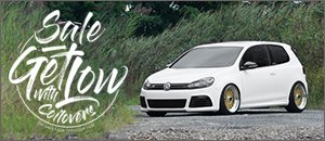 Get Low - Huge Discounts On Select Coilover Sets