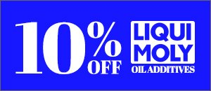 10% Off LIQUI MOLY - Oil Additives