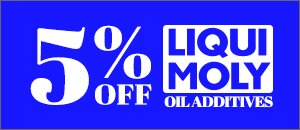 5% Off LIQUI MOLY - Oil Additives