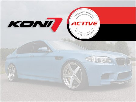 ECS News - New KONI Special Active Shock Kits   BMW F10 5 Series