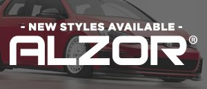 New Alzor Wheel Styles Available for your VW/Audi