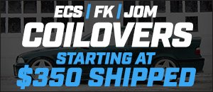 ECS | FK | JOM BMW Coilovers Starting at $350 Shipped