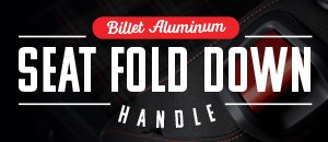 MK7 Golf/GTI Billet Aluminum Seat Fold Down Handle