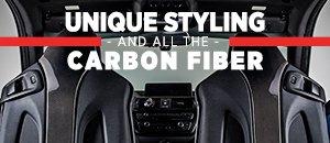 NEW ECS Carbon Fiber Seat Back Covers