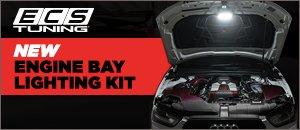 New ECS Audi B8 Chassis Engine Bay Lighting