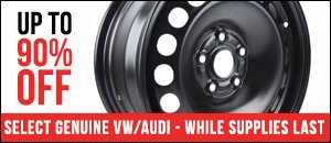 Heavily Discounted Genuine VW/Audi Parts