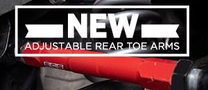 New ECS B8 Adjustable Rear Toe Arms for your B8
