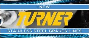 New Turner Motorsport Stainless Steel Brake Lines - E60