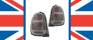 New from Helix - Union Jack Tail lights