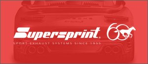 SALE - Supersprint Exhaust Kits - 996 CARRERA '99-'04