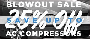 BMW - AC Compressor Blow Out Sale