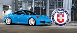 Up to 25% off HRE Wheels for your Porsche
