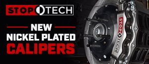 New StopTech Nickel-Plated Calipers | BMW Fitments