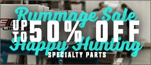 BMW Rummage Sale - Up to 50% Off Specialty Parts