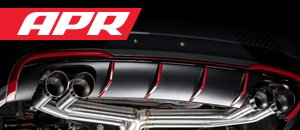 New APR Cat-Back Non Valved Exhaust System for 8V S3