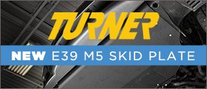 New Turner Motorsport E39 Skid Plate