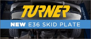 New Turner Motorsport E36 Skid Plate