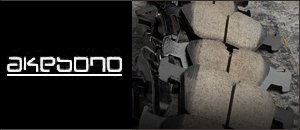 AKEBONO Brake Pads - W123 280/300 E/CE/CD/D/TD/ '77-'85