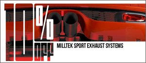 ON SALE 10% Off - Milltek Exhaust for your MINI