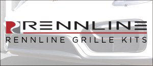 Rennline Grille Kits - 996 TURBO '01-'05