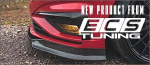 New ECS MK7 Jetta Carbon Fiber Front Lip Spoiler