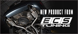 New ECS B7 A4 2.0T Cat Back & Turbo Back Exhaust System