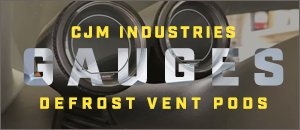 CJM Industries Vent Pods - New For Your Audi B6/B7