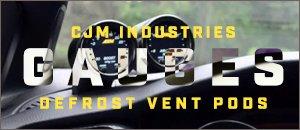 CJM Industries Vent Pods - VW MK7