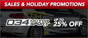 Up to 25% Off 034Motorsport Products