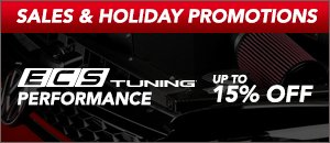 Up to 15% off ECS Performance Products