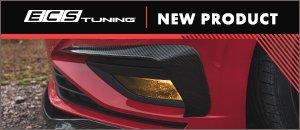 New MK7 Jetta Carbon Fiber Front Bumper Flares