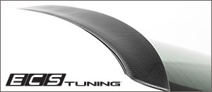 New Audi B8/B8.5 A4/S4 ECS Carbon Rear Window Spoiler