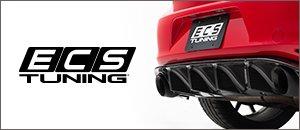 New ECS MK7 GTI Carbon Fiber Rear Diffuser