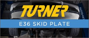 Turner Motorsport E36 Skid Plate