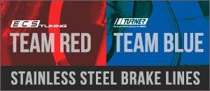 ECS Exact-Fit & Turner Motorsport Stainless Steel Line