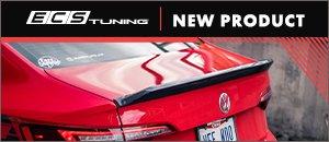 NEW ECS MK7 Jetta Carbon Fiber Trunk Spoiler