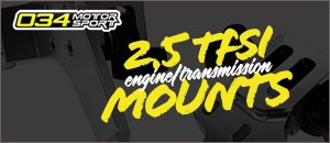 New 034Motorsport Engine/Trans Audi 8V.5 RS3, 8S TTRS