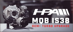 New MQB HPA IS38 OEM+ Turbo Upgrade