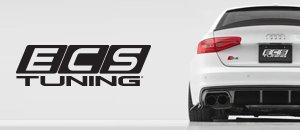 Black Diffuser & Rear Bumper Side Splitter Set B8 A4/S4