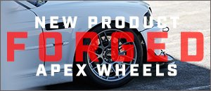 NEW APEX Forged Wheels - ARC-8R