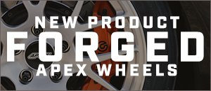 NEW APEX Forged Wheels - EC-7R