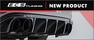 New ECS MK7 Golf R Carbon Fiber Rear Diffuser