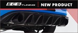New ECS MK7.5 GTI Carbon Fiber Rear Diffuser