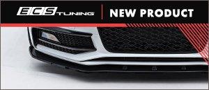 New ECS Audi B8.5 A4 S-line / S4 Gloss Black Front Lip