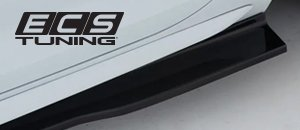 New ECS Audi B9 A4/S4 Flat Side Skirts in Gloss Black