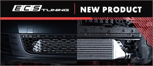 New ECS MK6 GTI/Golf R Front Mount Intercooler Kit