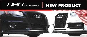 ECS Gloss Black Audi B8 Chassis S4/A4 S-Line Front Lip